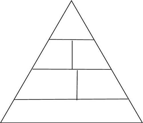 The following blank printable food pyramid chart or diagram can be a fun for
