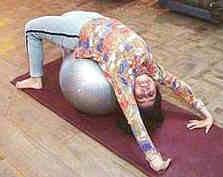 Exercise Ball Exercise for Back pain