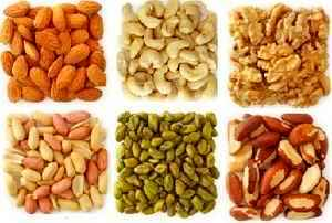 proteins in nuts